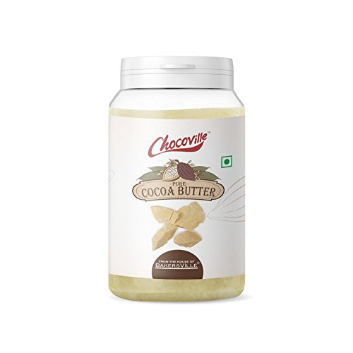 Chocoville Cocoa Butter (Neutral), 125g, 125 g