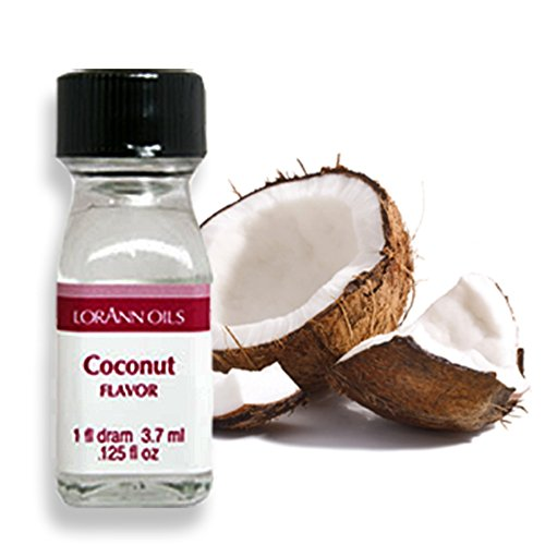 Lorann Oils Super Strength Flavors, Coconut, 3.7 ml - Bakersville Shop