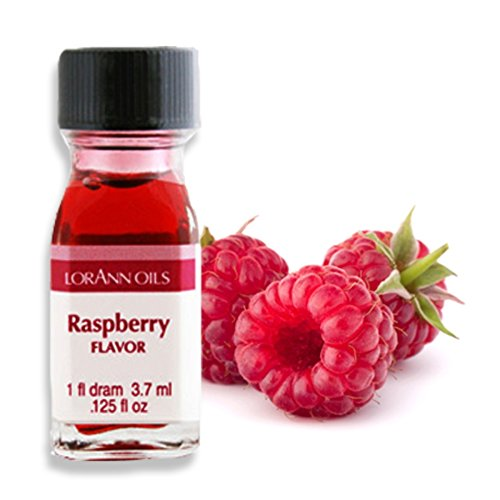 Lorann Oils Super Strength Flavors, Raspberry, 3.7 ml