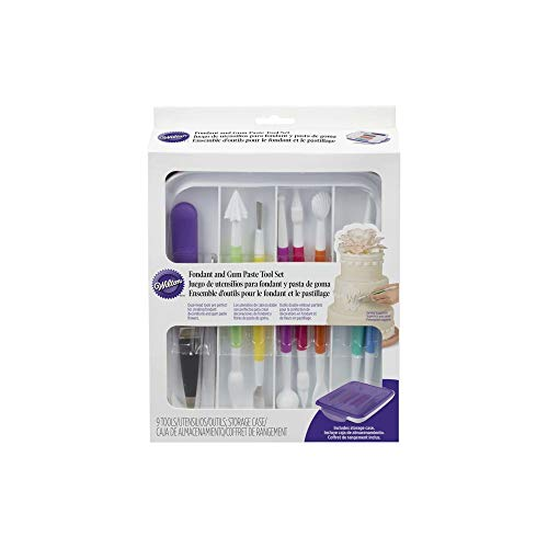 Wilton Fondant & Gum Paste Tool Set (9 Pcs/Set)
