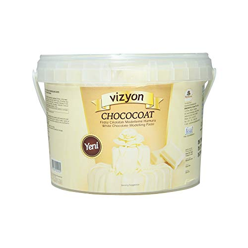Vizyon Chococoat Modelling Paste (White Chocolate), 1kg, 1000 g - Bakersville Shop