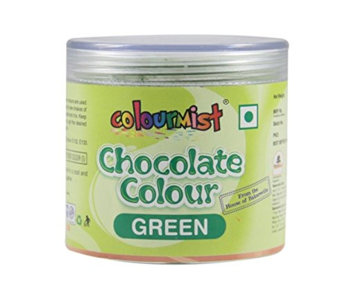 Colourmist Chocolate Colour (Green), 25 g - Bakersville Shop