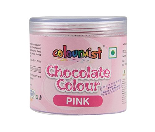 Chocolate Colour (Pink), 25gm - Bakersville Shop