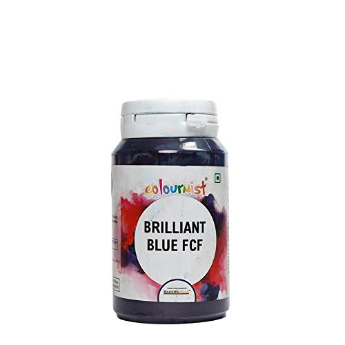 Colourmist Brilliant Blue Basic Food Colour, 75 Gm - Bakersville Shop