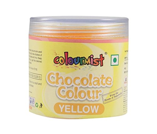 Colourmist Chocolate Colour (Yellow),25gm, 25 g