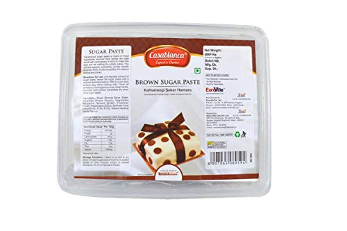 Casablanca Sugar Paste Brown , 400 Gm - Bakersville Shop