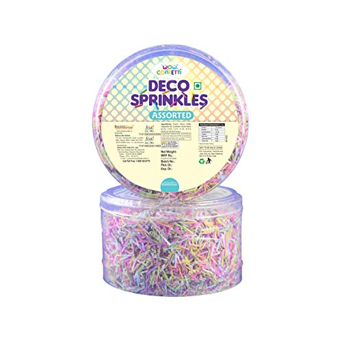 Wow Confetti Deco Sprinkles -30g (Assorted) - Bakersville Shop