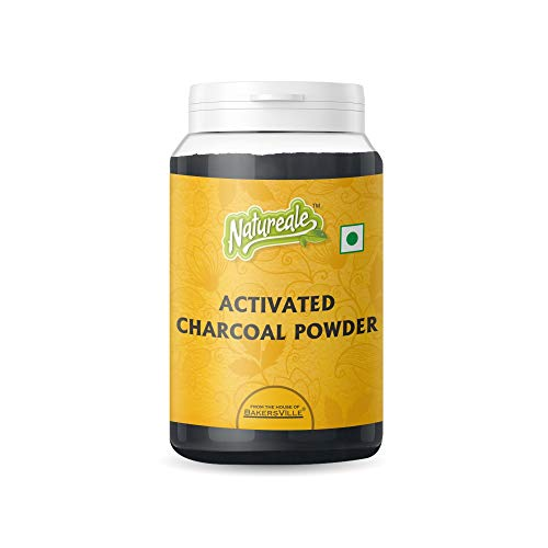 Natureale Activated Charcoal Powder, 75g - Bakersville Shop