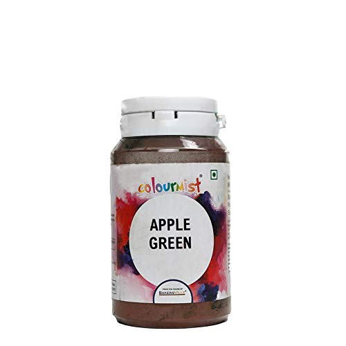 Colourmist Apple Green Basic Food Colour, 75 Gm - Bakersville Shop