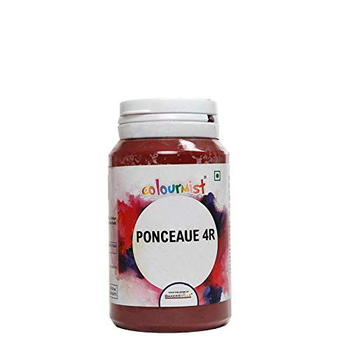 Colourmist Ponceau 4 R Basic Food Colour, 75 Gm - Bakersville Shop
