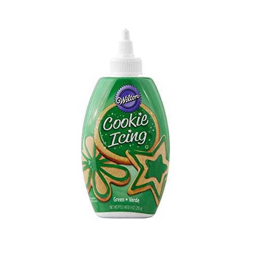 Wilton Cookie Icing, Green, 225 g
