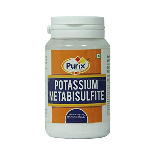 Purix® Potassium Metabisulfite, 75g - Bakersville Shop