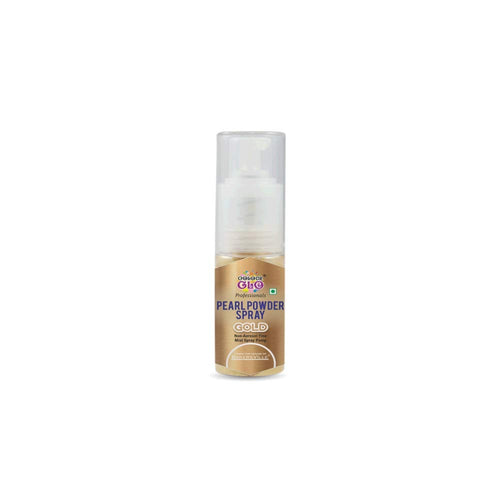 Colour Glo Powder Pearl Spray 7 Grams - Gold - Bakersville Shop