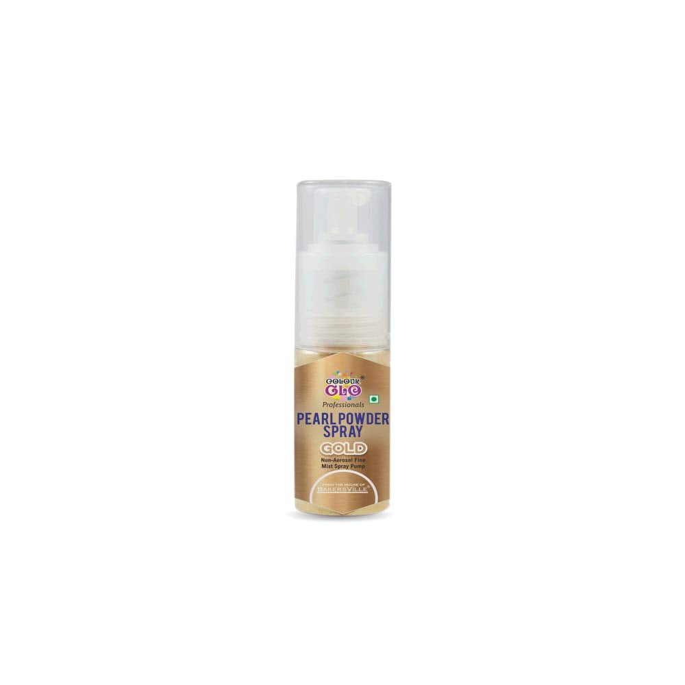 Colour Glo Powder Pearl Spray 7 Grams - Gold
