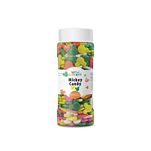 Wow ConfettiTM Mickey Candy, 75g - Bakersville Shop