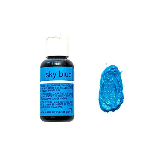 Chefmaster Liqua- Gel, Sky Blue, 20 ml - Bakersville Shop