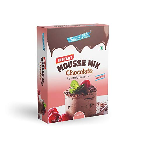 Bakerswhip Mousse Mix Chocolate (500 gm) - Bakersville Shop