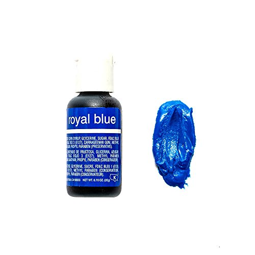Chefmaster Liqua- Gel, Royal Blue, 20 ml - Bakersville Shop