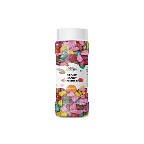 Wow Confetti Stone Candy (Chocolate Stones), 125g