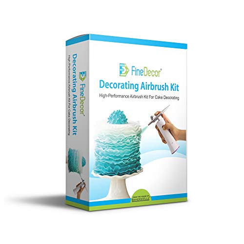 FINE DECOR Wireless Decorating Airbrush Kit - Bakersville Shop