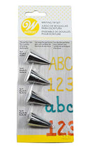 Load image into Gallery viewer, Wilton Writing Tip Set (Nozzles), 4pcs