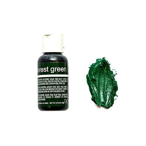 Chefmaster Liqua- Gel, Forest Green, 20 ml - Bakersville Shop