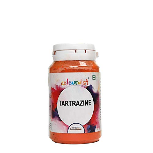 Colourmist Tartrazine Basic Food Colour, 75 Gm - Bakersville Shop