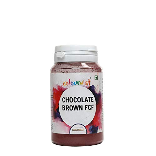 Colourmist Chocolate Brown Fcf Basic Food Colour, 75 Gm - Bakersville Shop