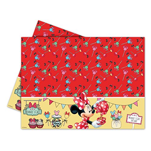 Minnie Mouse Plastic Tablecover - BV82674- 1Pc