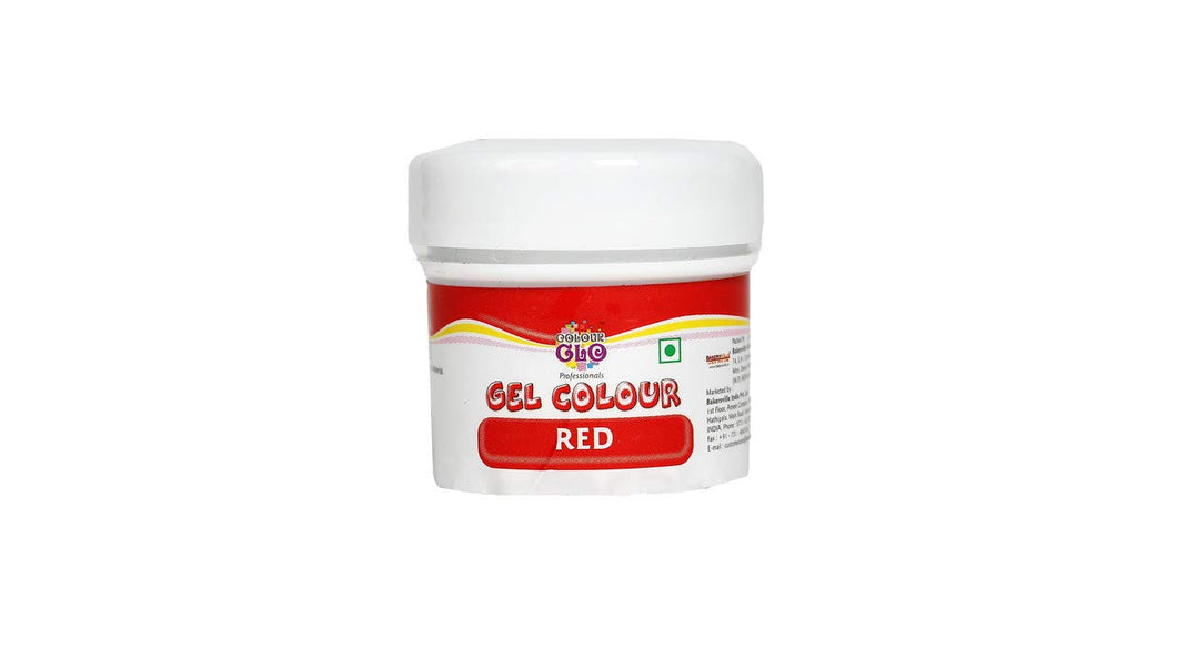 Colourglo Professionals Gel Colour Red, 10 Gm