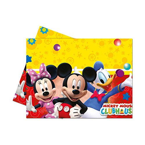 Mickey Mouse Club House Plastic Tablecover - BV81511 - 1Pc - Bakersville Shop