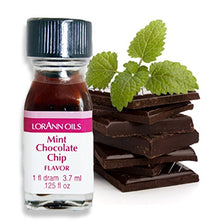 Load image into Gallery viewer, Lorann Oils Super Strength Flavors, Mint Chocolate Chip, 3.7 ml