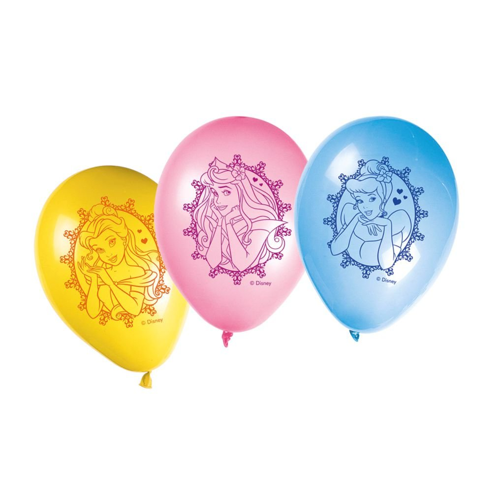 Disney Princess Disney Princessinted Balloons (11-inch) - BV81587 - 8Pcs - Bakersville Shop