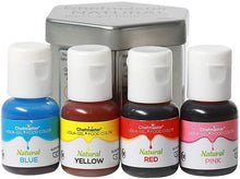 Load image into Gallery viewer, CHEFMASTER - NATURAL LIQUA GEL - ASSORTED KIT - (10 GM X 4 BOTTLES X 1 KIT)