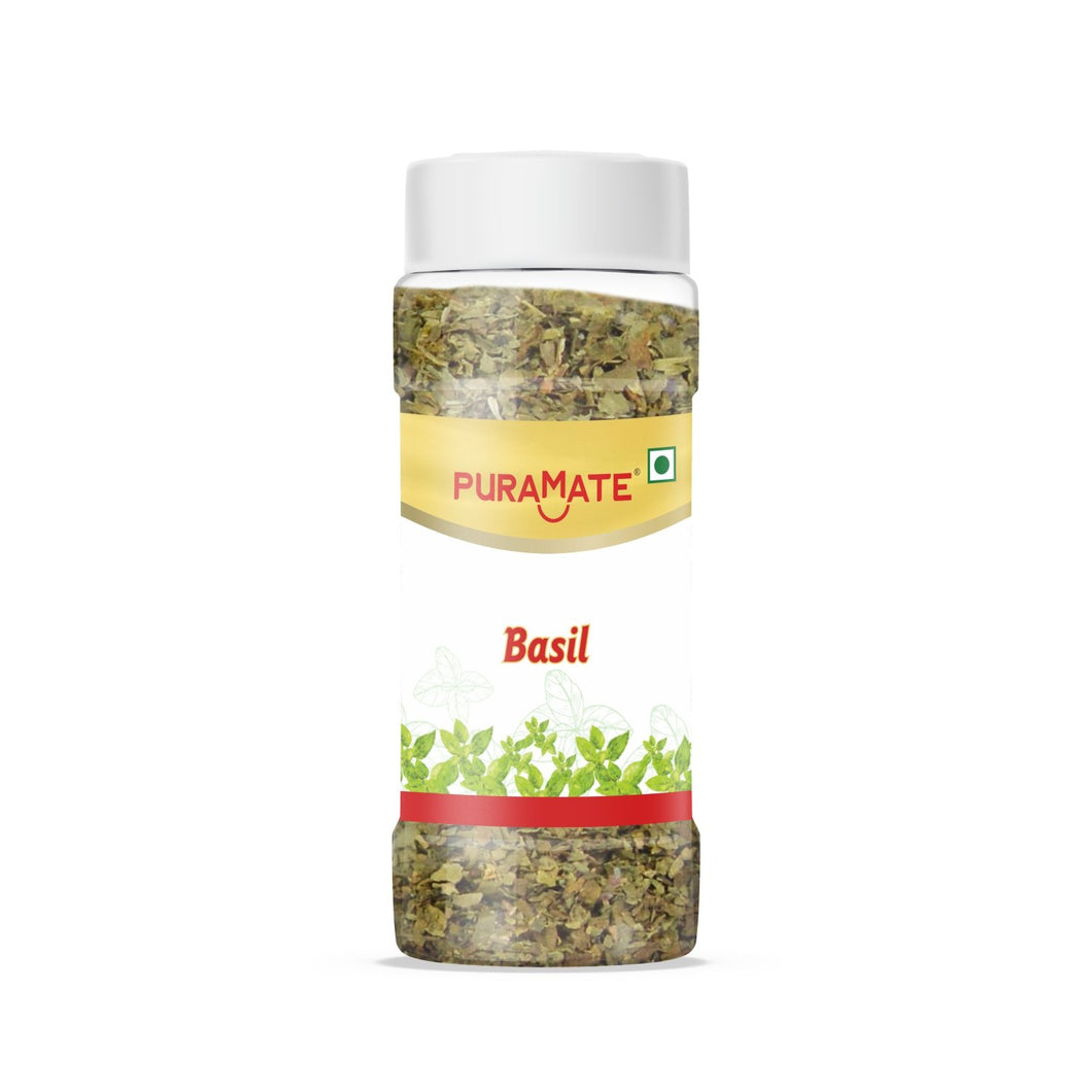 Puramate Seasoning - Basil, 15 Gm