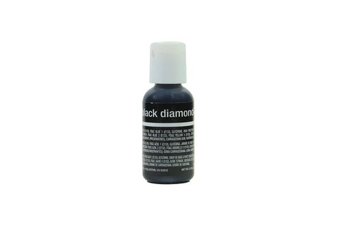 Chefmaster Liqua Gel (Black Diamond), 20 Gm - Bakersville Shop