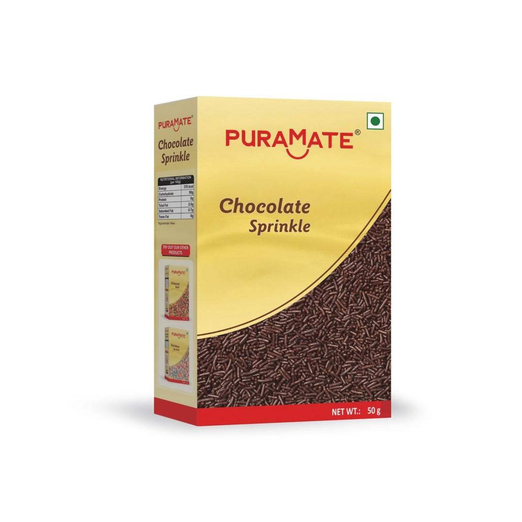 Puramate Chocolate Sprinkle ,50 Gm