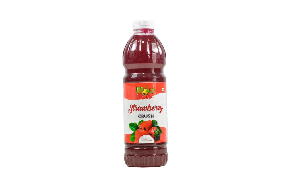 Fruitbell Fruit Crush - Strawberry - 1000ml - Bakersville Shop