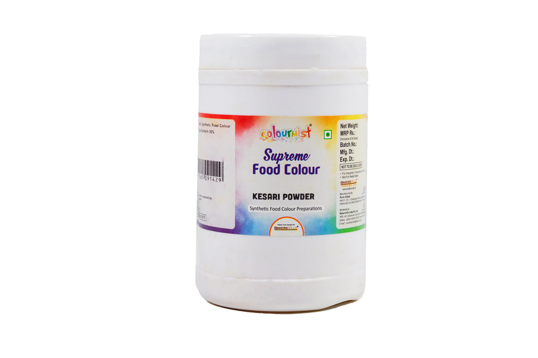 Colourmist Supreme Food Colour Kesari Powder 500 Gm