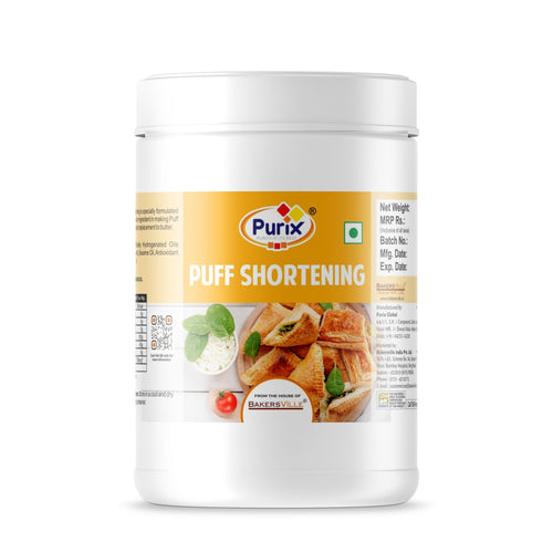 Purix Puff Shortening, 400 Gm - Bakersville Shop