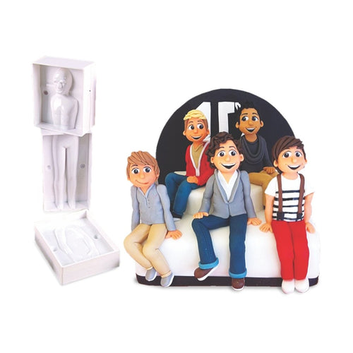 Finedecor 3D People Body Shape Mould FD-2494 (Men) - Bakersville Shop