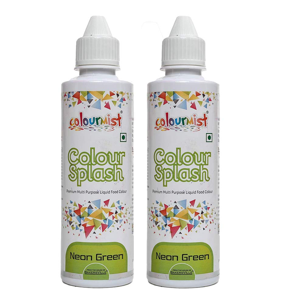 Colourmist Colour Splash - (Pack of 2) - Neon Green (200 g)