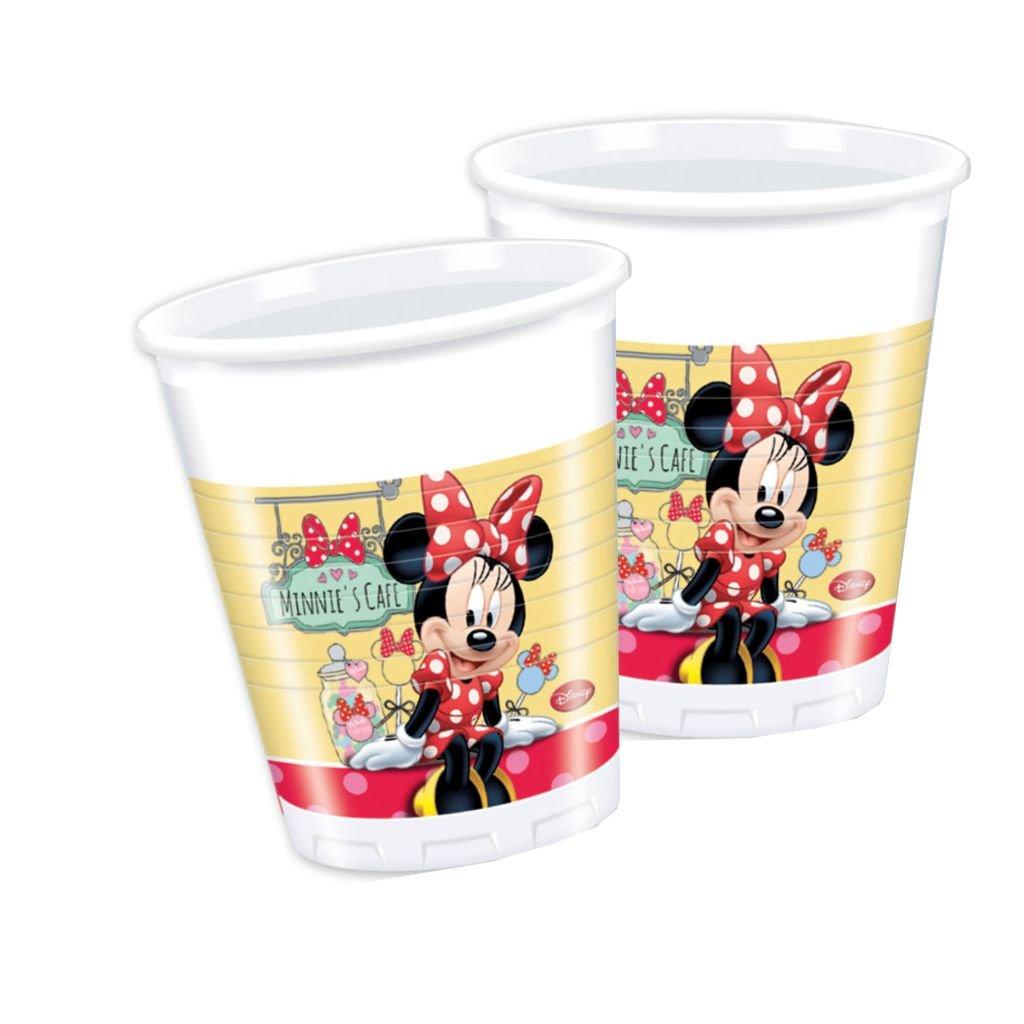 Disney Princess Plastic Cups 200Ml - BV82646 - 8Pcs - Bakersville Shop