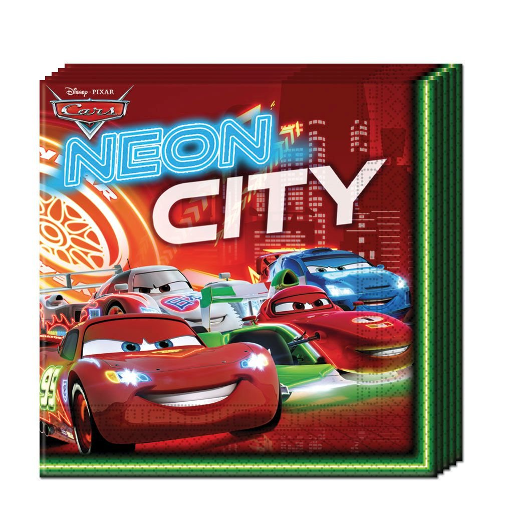 Disney Cars 2-Ply Paper Napkins - BV82629 - 20Pcs - Bakersville Shop