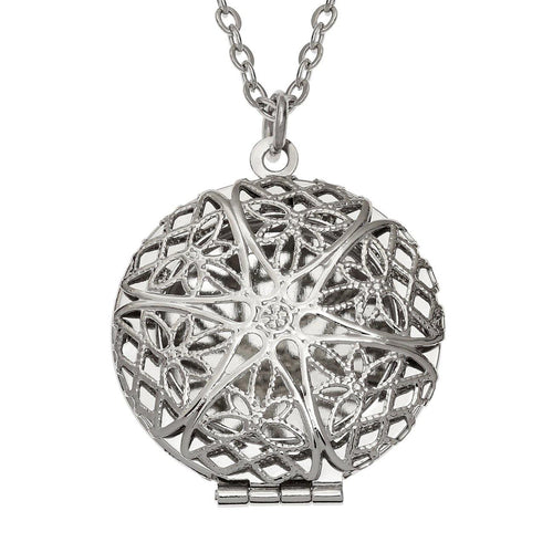 Filigree Opening Locket