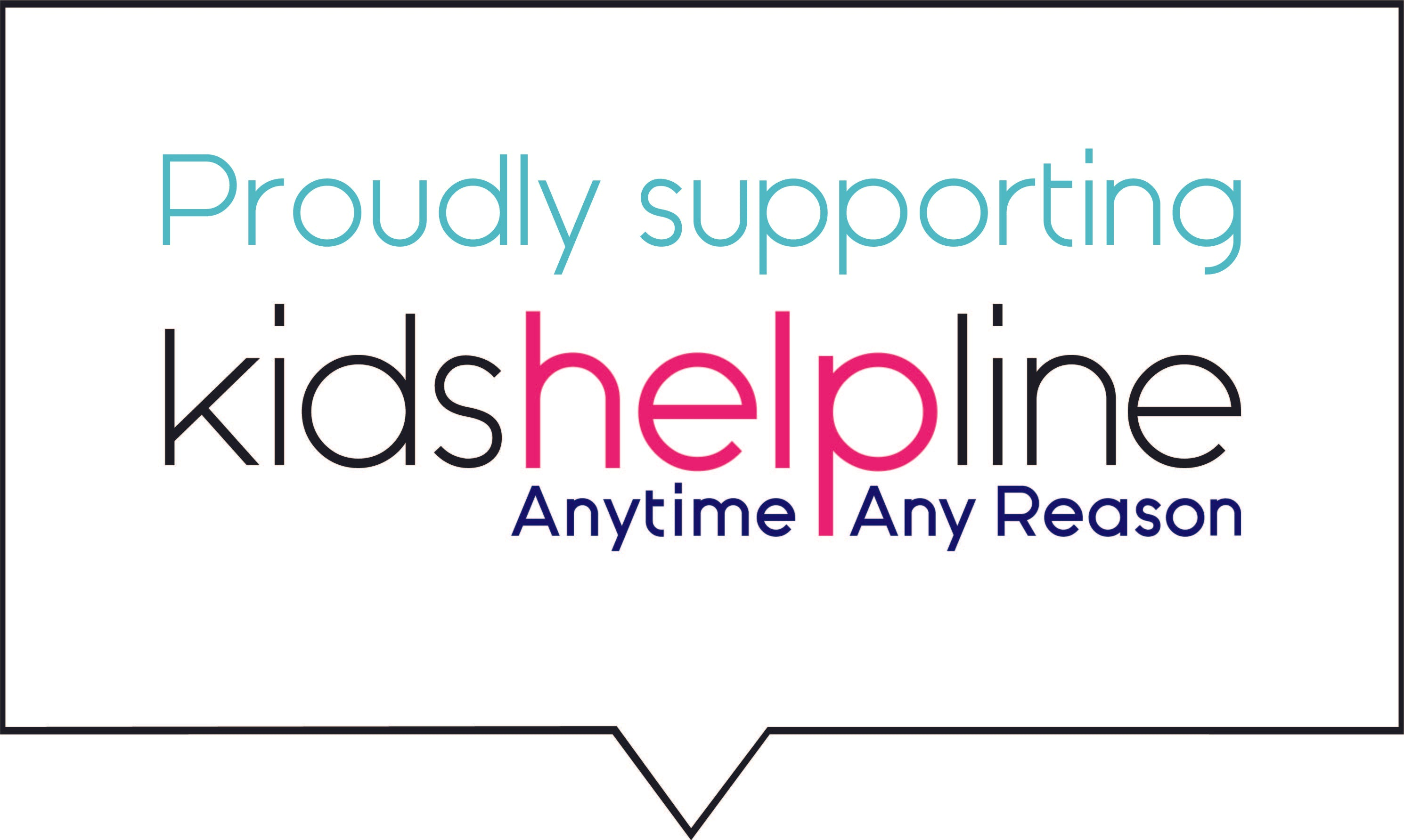 TRA Collective proudly supporting Kids Helpline logo image