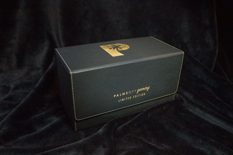Palms off gaming (POG) collectors series PSA storage box front on image