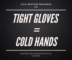 HELD Tight Gloves Creates Cold Hands