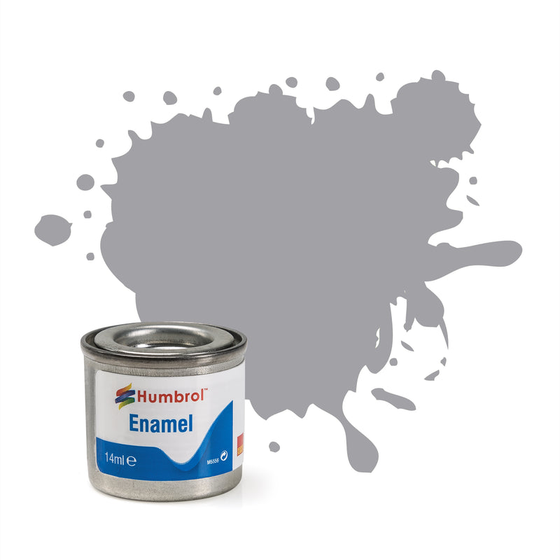 Humbrol Enamel No 40 Pale Grey Gloss