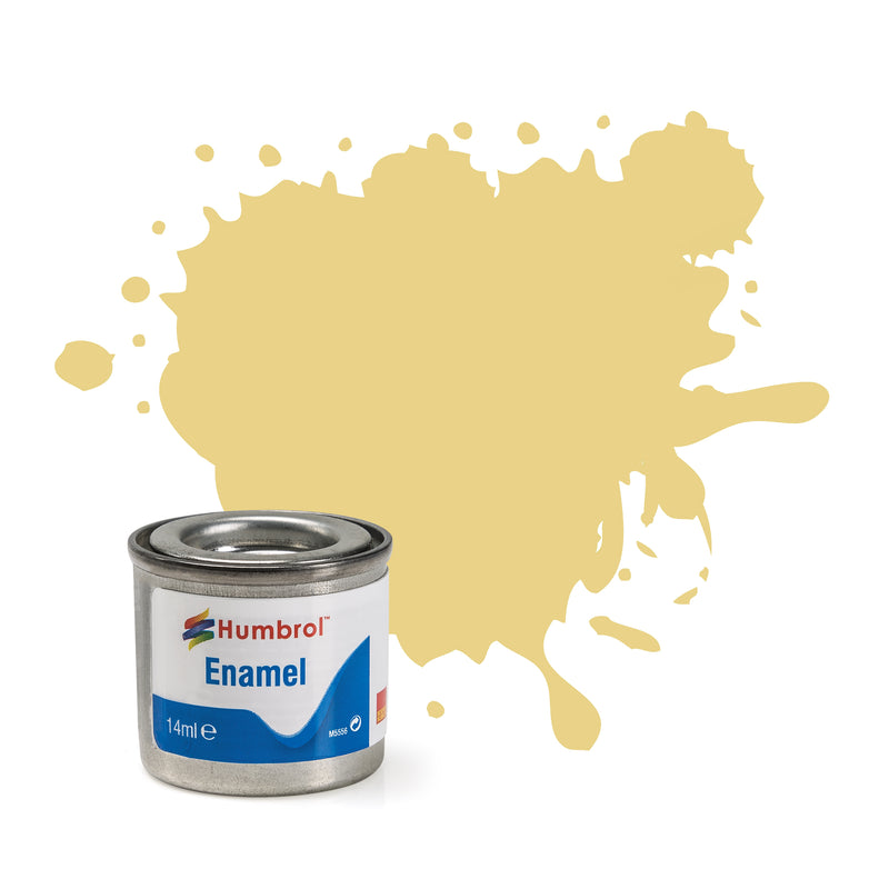 Humbrol Enamel No 103 Cream Matt
